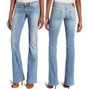 True Religion Bobby Lonestar Light Flare Jeans